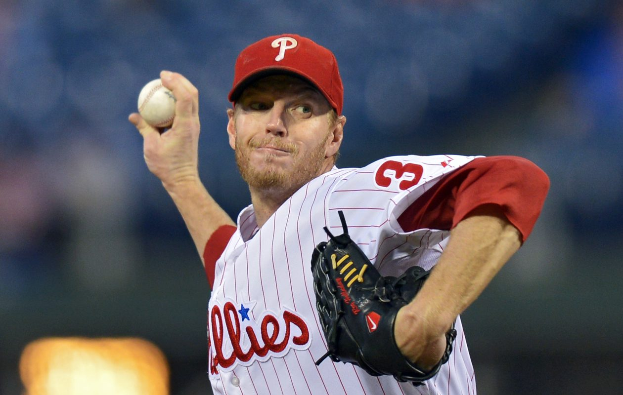 Former Phillies and Blue Jays pitcher Roy Halladay has died in a plane crash in the Gulf of Mexico off Florida. He was 40.  (Getty Images)