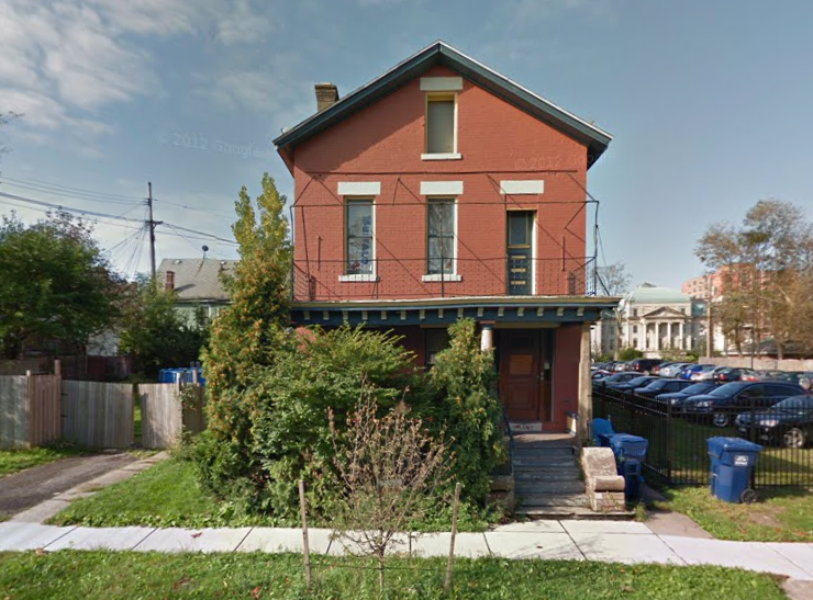 The property at 224 Plymouth was built around in 1850. (Google Maps)