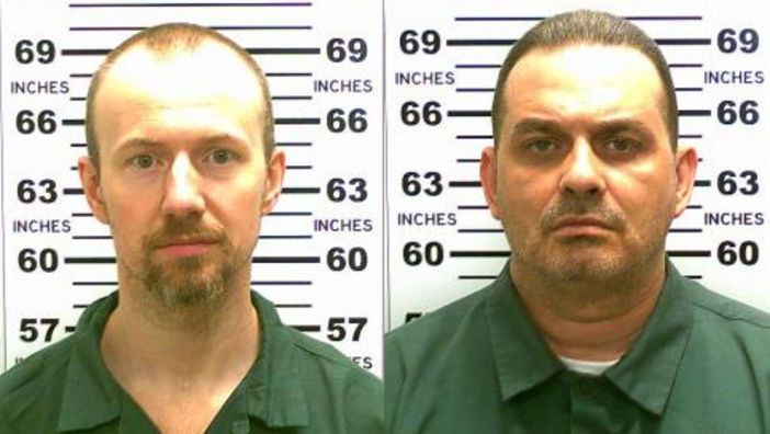 David Sweat, left, and Richard Matt broke out of Clinton Correctional Facility in 2015.