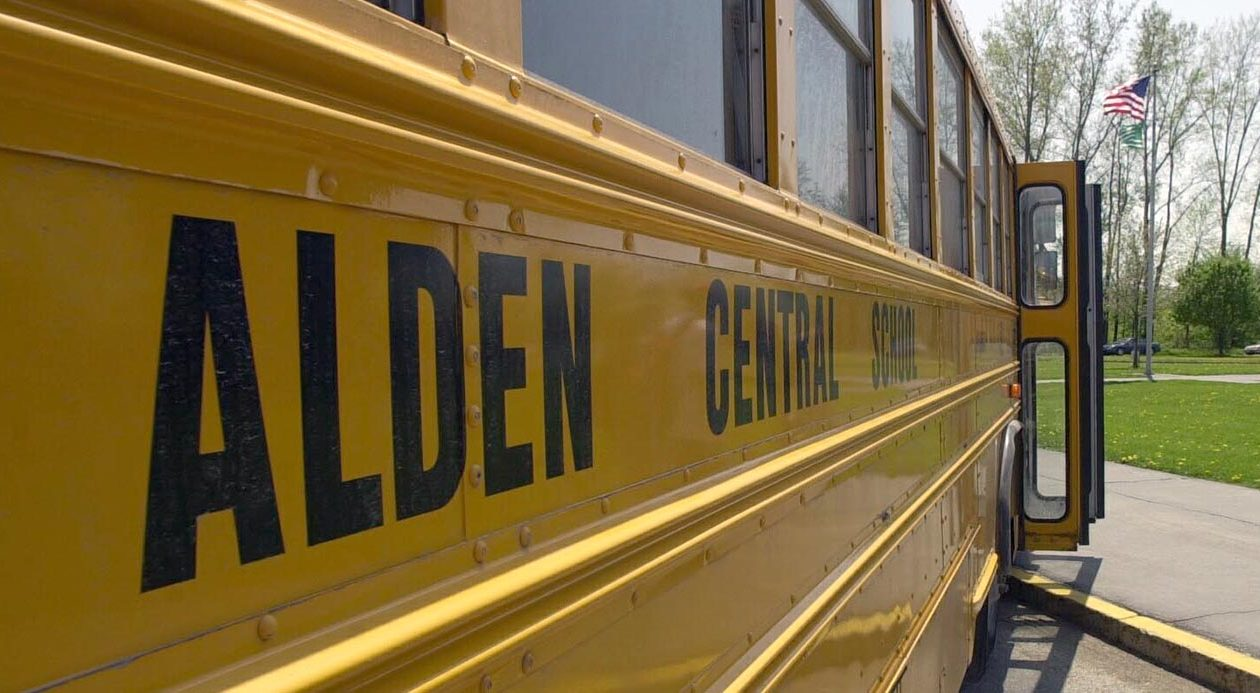 Alden High School. (News file photo)