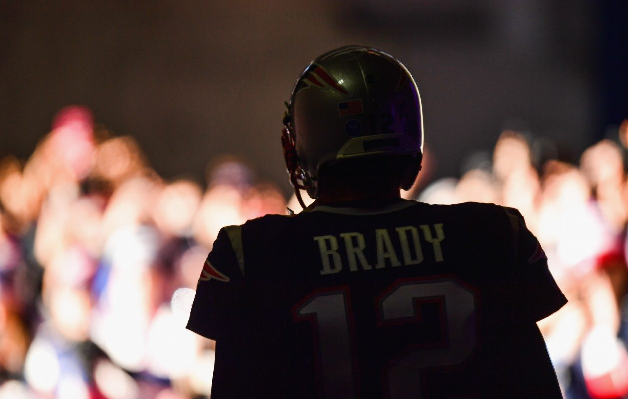 Tom Brady is expected to play Sunday as the Bills face the Patriots. (Getty Images)