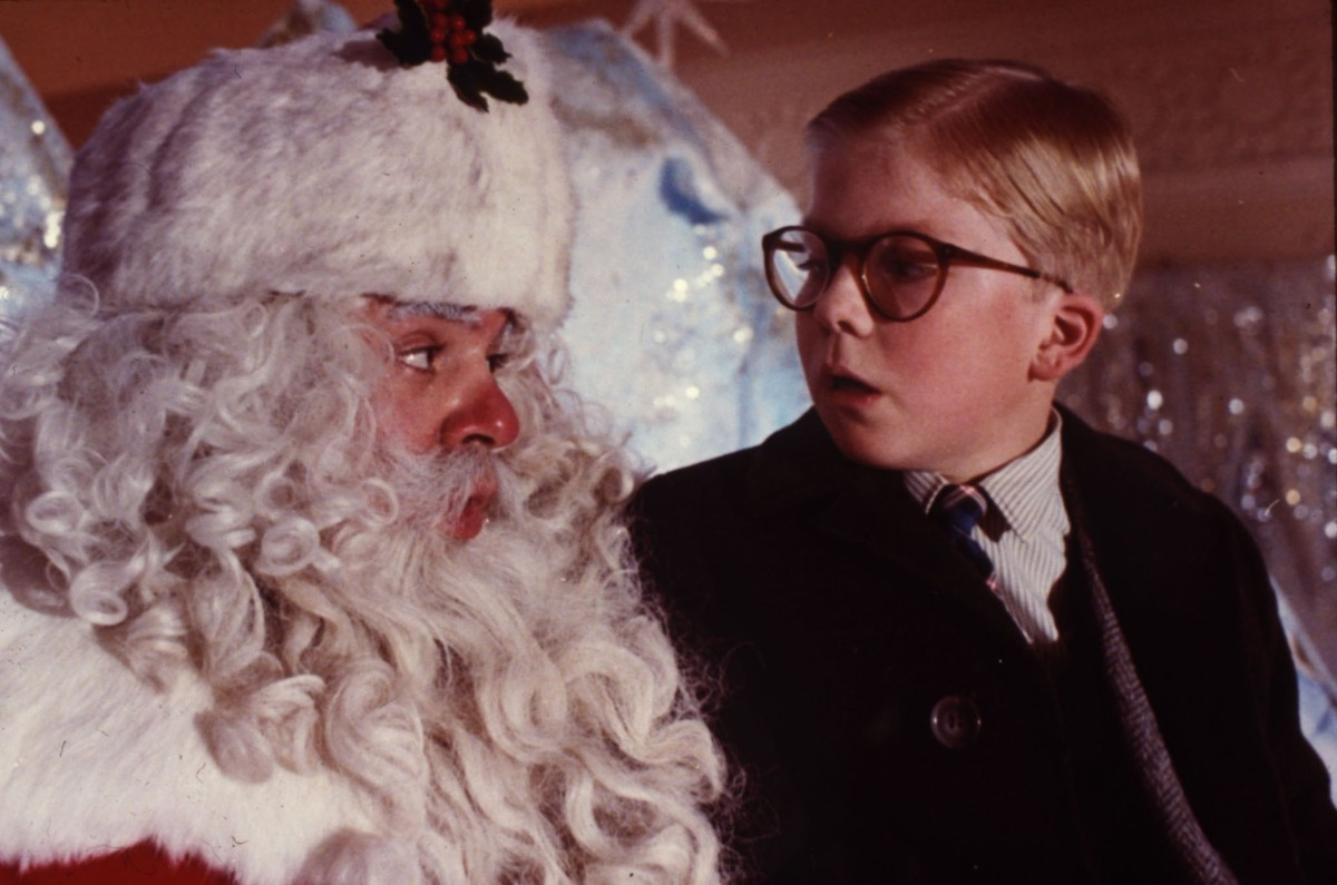 'A Christmas Story' is one of the holiday films being shown at area theaters.