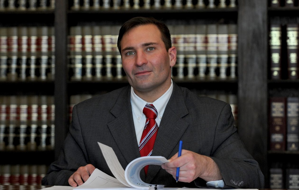 Alan J. Roscetti, 38, of Niagara Falls, pictured in a photo released by his campaign, ran for city judge but lost in the primary.