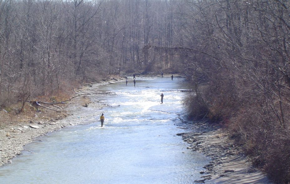 Lake Erie tributary fishing is a popular angling activity. Changes in 2018 could make fishing more productive.