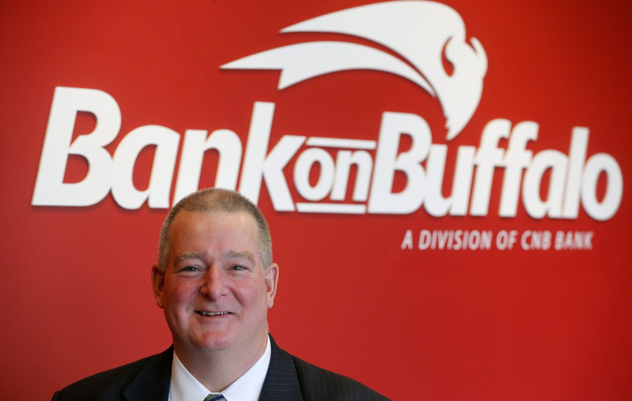 Martin Griffith is   president of Bank on Buffalo, which will open branches in Orchard Park and Amherst this month.       (Mark Mulville/ News file photo)