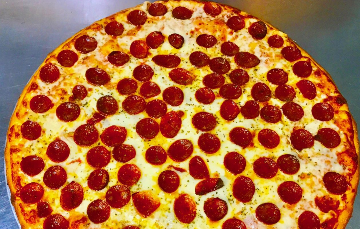 LombarDough's offers an 18-inch pizza, rather than the typical 16-inch size. (Photo courtesy of LombarDough's Pizza & Pasta)