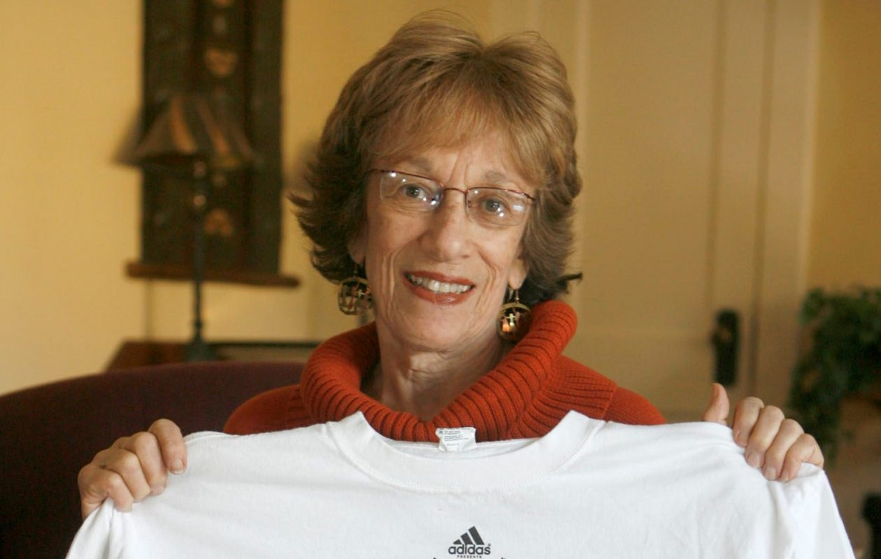 Mary Ann Bolles was the first female to run in the Turkey Trot, registering for the race in 1972. (John Hickey/News file photo)