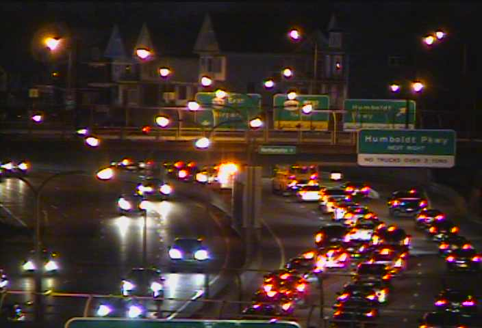 Accident on Route 33 eastbound slows traffic
