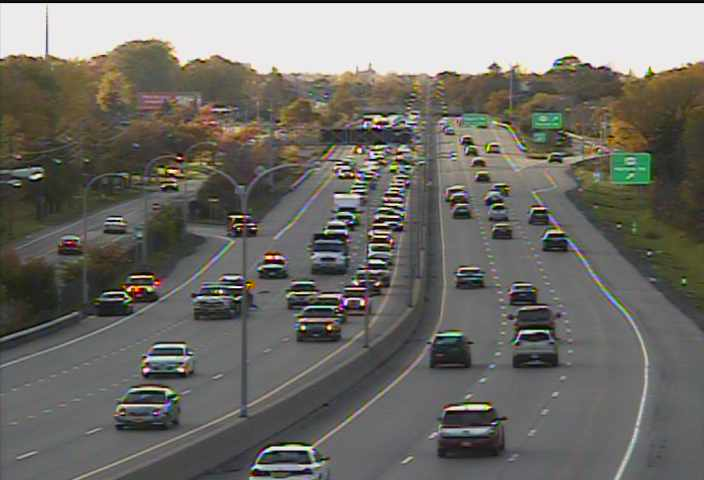 Accident on Route 33 eastbound causes traffic delays