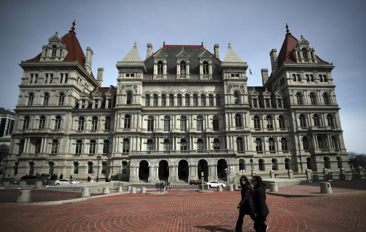 The new changes to the measure pending in Albany also make clear that only Trump's New York State tax returns could be turned over to Congress. (News file photo)