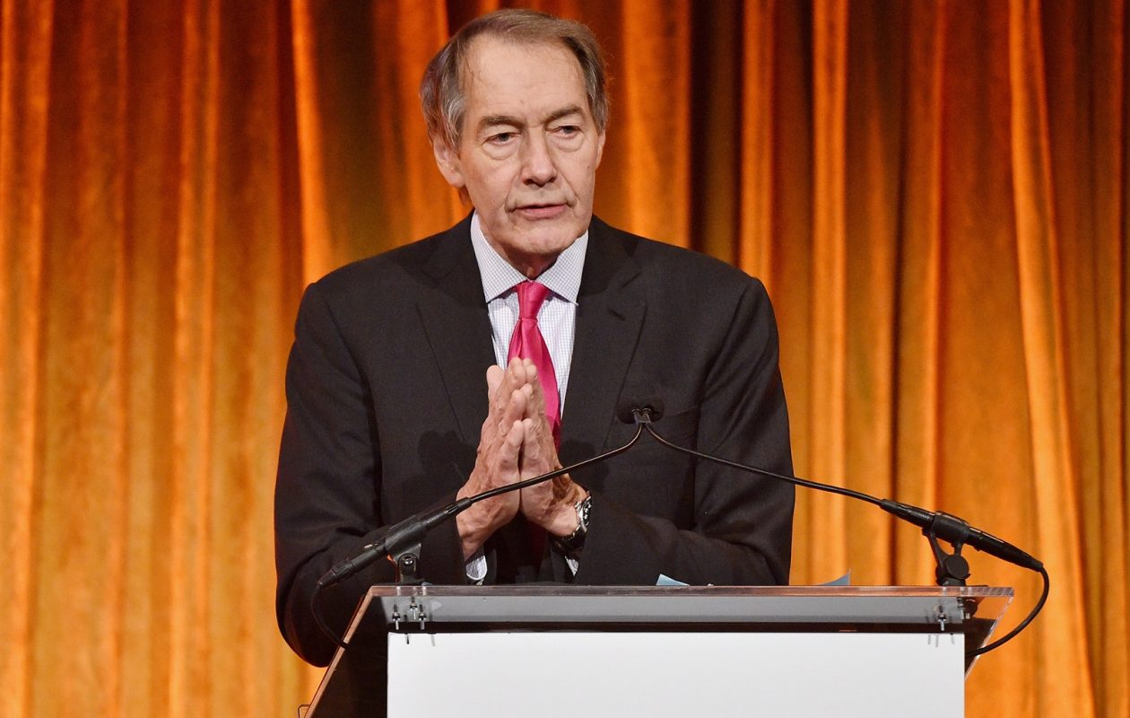 Journalist Charlie Rose, suspended from CBS and PBS as a result of sexual harassment allegations, won't be appearing on local station WNED-TV, either. (Getty Images)
