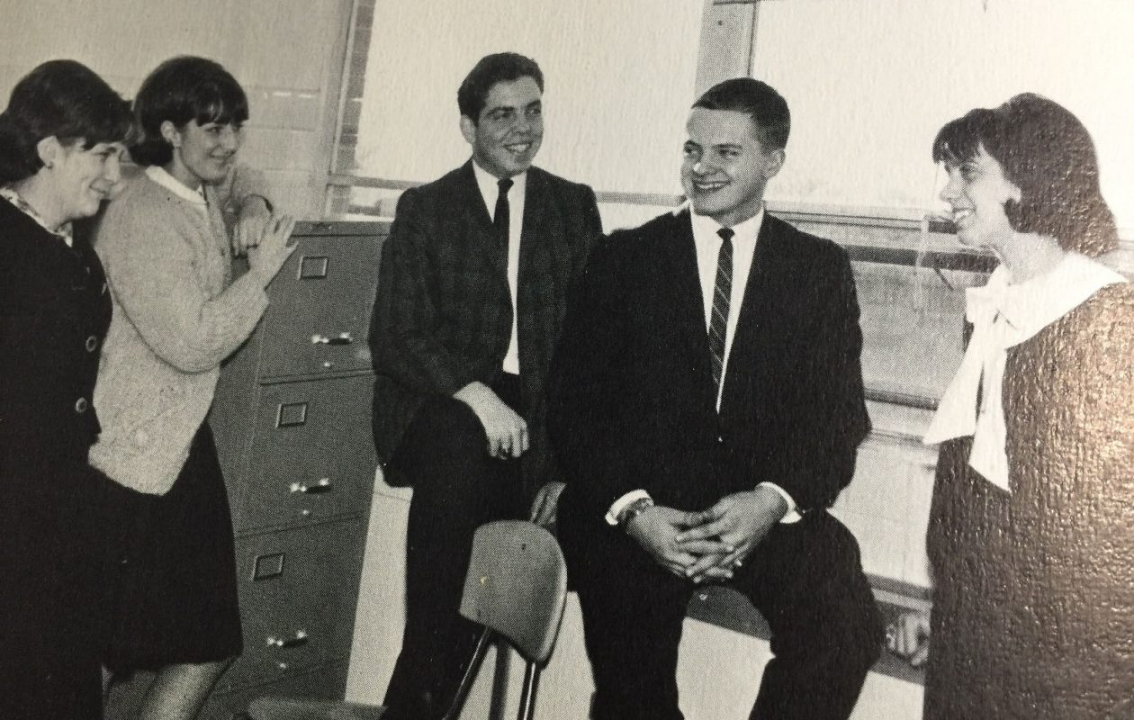 Try to find the future Buffalo TV meteorologist in this photo. (Hint: He looks like a young Don Paul.)