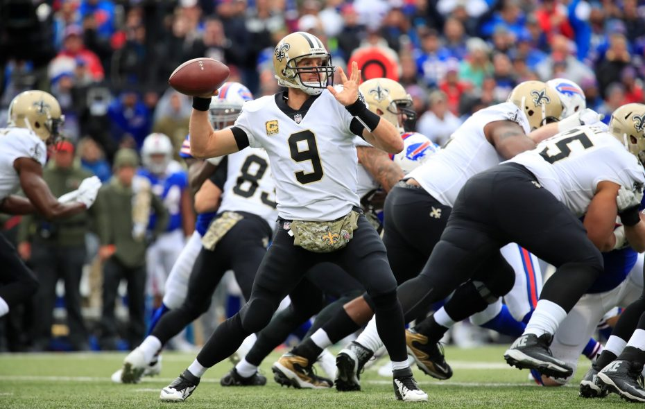 Drew Brees and the saints will try and get some revenge against the Rams. (Harry Scull Jr./News file photo)