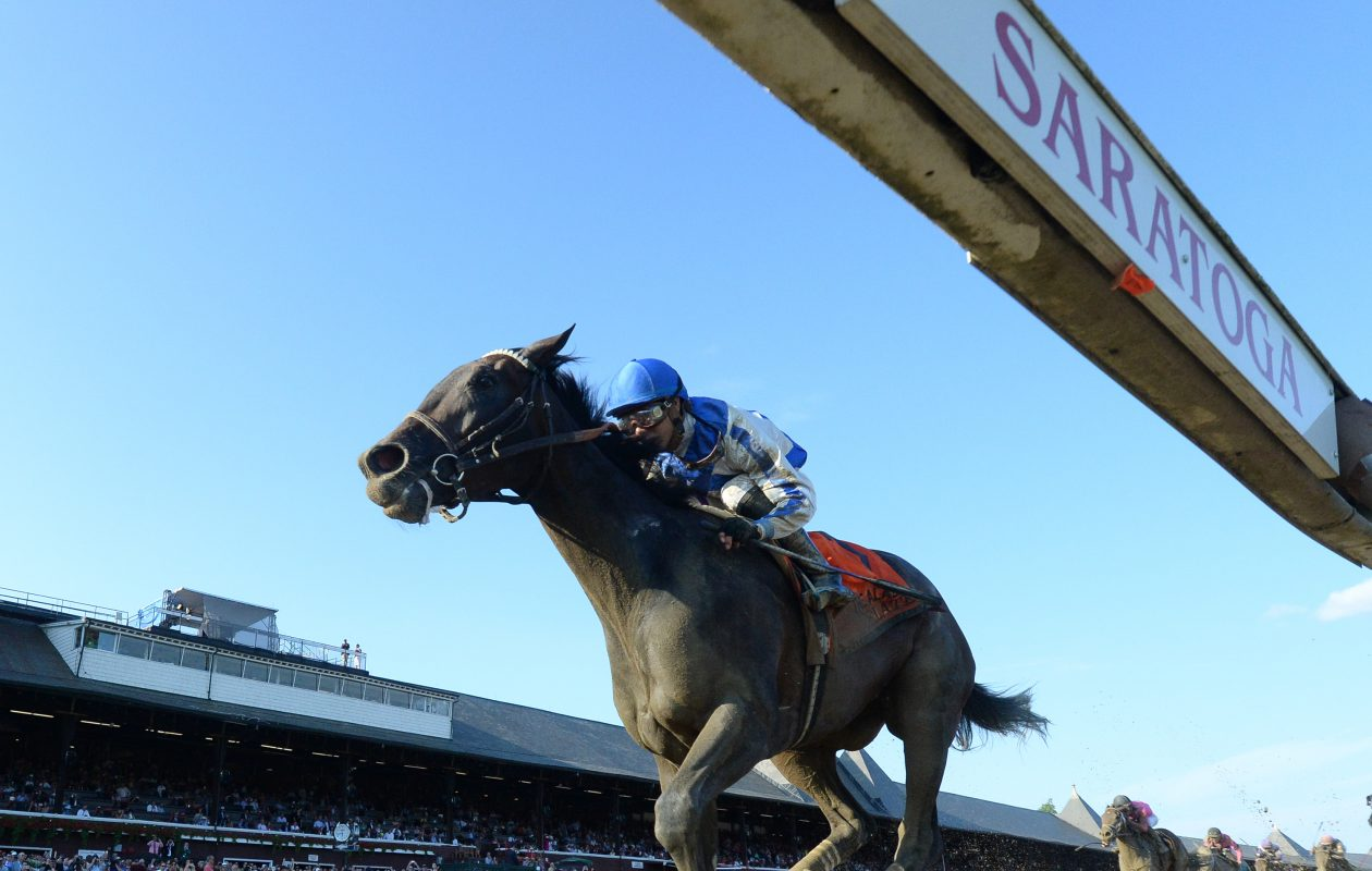 Alabama winner Elate is the Post Time selection for the Breeders' Cup Distaff Photo Credit: NYRA