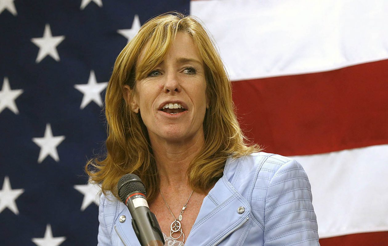 Lynne Dixon fended off a challenge from Democratic Hamburg town Councilman Michael P. Quinn Jr. (Robert Kirkham/News file photo)
