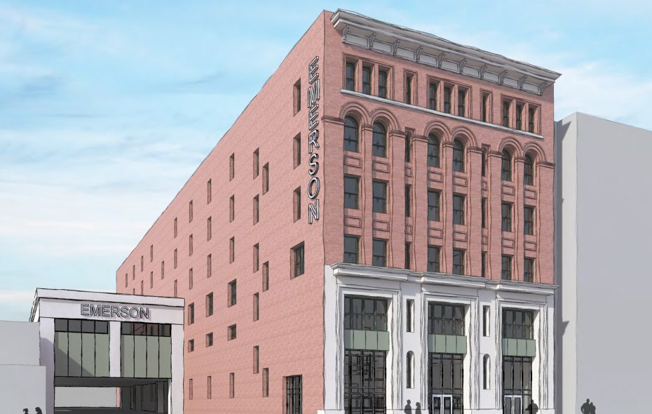 The vacant C.W. Miller Livery building on West Huron Street will be renovated into the new hospitality school.