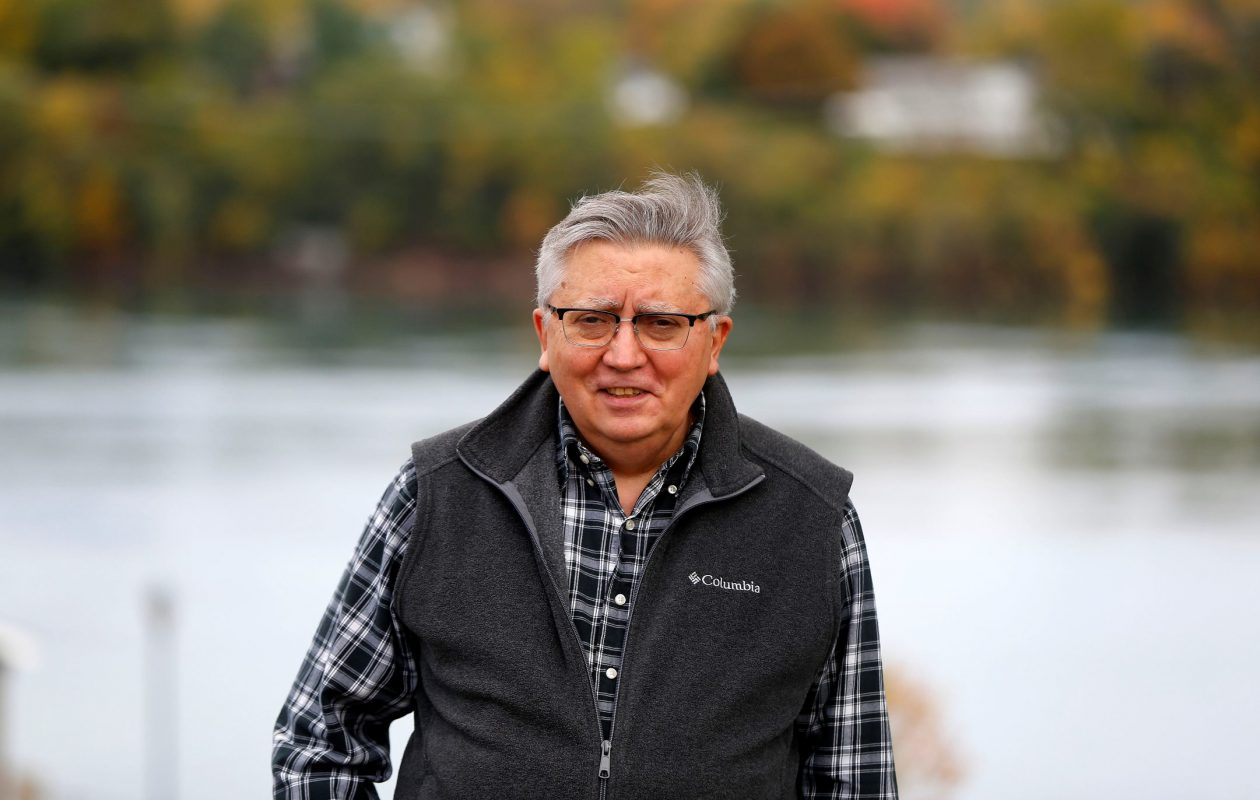 Lewiston poet Robert M. Giannetti. (Mark Mulville/Buffalo News)