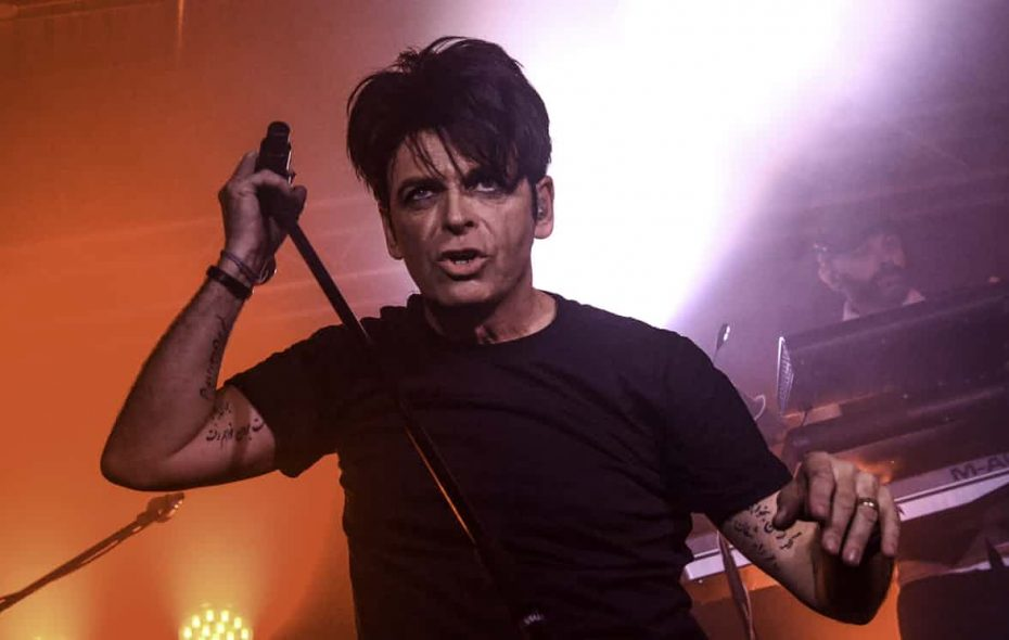 Electronic rock pioneer Gary Numan plays the Town Ballroom on Dec. 2. (Getty Images)