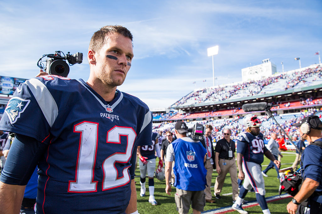 Patriots quarterback Tom Brady has enjoyed much success in Orchard Park. (Getty Images)