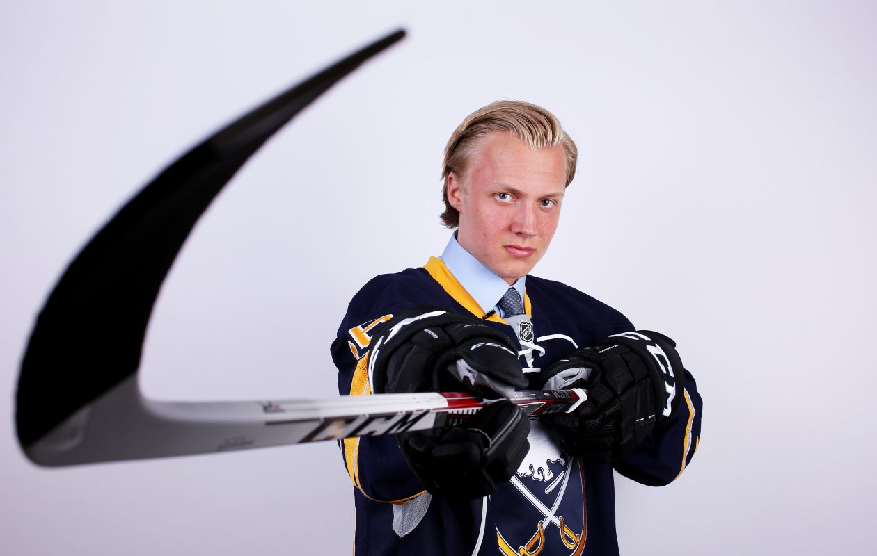 Alex Nylander is finally recovered from a lower-body injury suffered during the Sabres Prospect Challenge. (Getty Images)