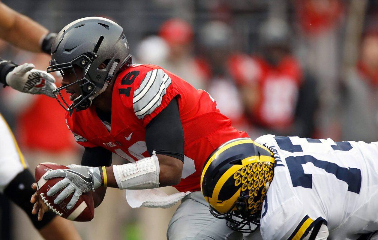 Keep an eye on Maurice Hurst of the Michigan Wolverines. (Gregory Shamus/Getty Images file photo)