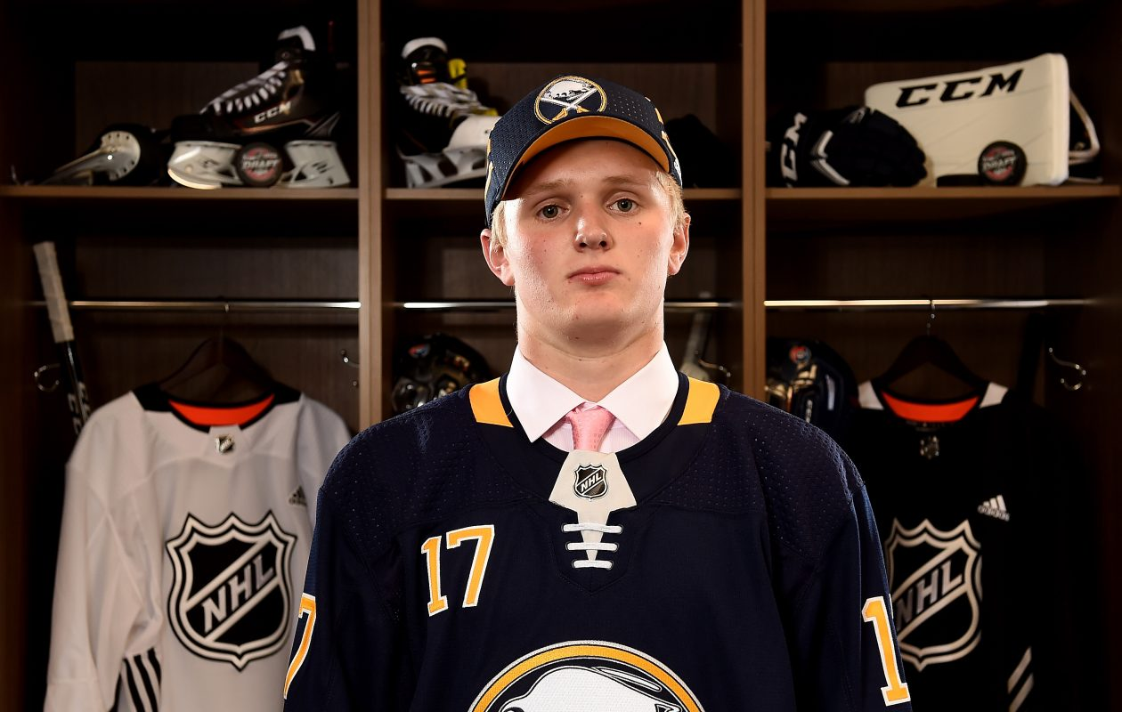 Casey Mittelstadt has three goals and nine points in nine games for the University of Minnesota. (Getty Images)