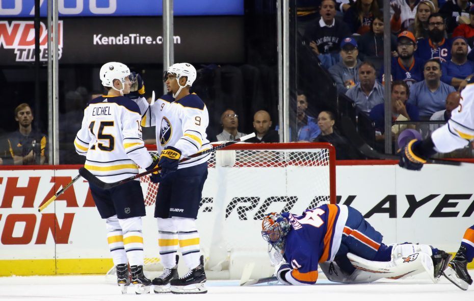 promo code b9f09 f9c4b Sabres Notebook: Eichel, Kane a 'killer' combo; military ...