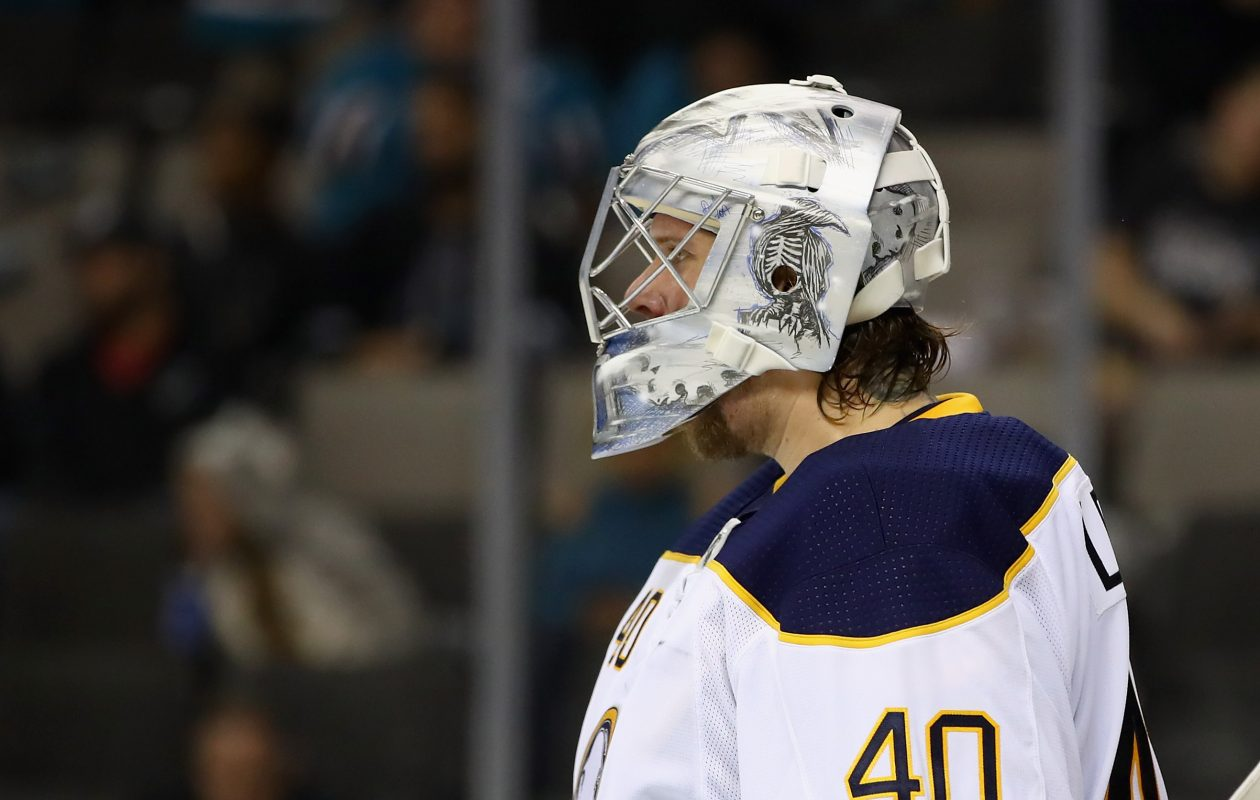 Robin Lehner had won three of his previous four starts, but he gave up three goals on seven shots Saturday. (Getty Images)