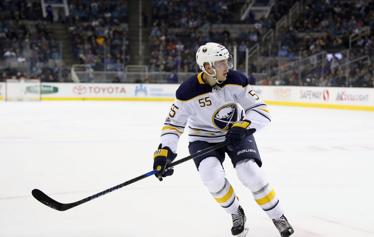 Sabres defenseman Rasmus Ristolainen missed Saturday's game against Dallas with an upper-body injury. (Getty Images)