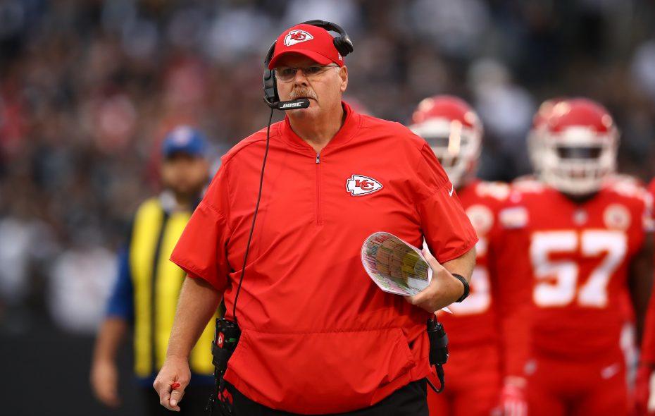 Chiefs coach Andy Reid  (Photo: Ezra Shaw/Getty Images)