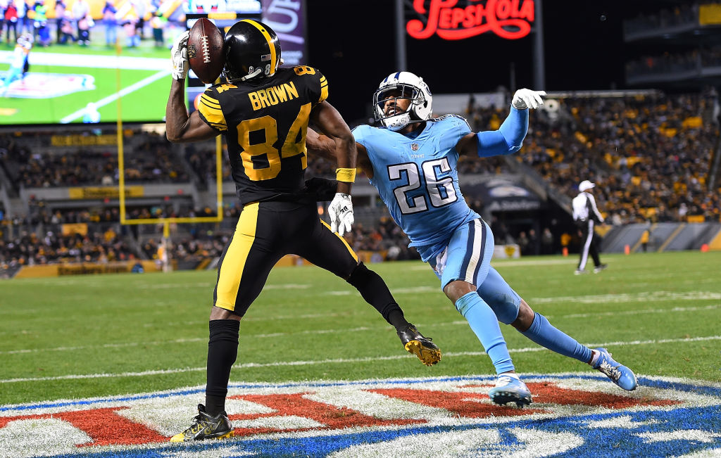 Antonio Brown will be a handful for the Packers. (Getty Images)