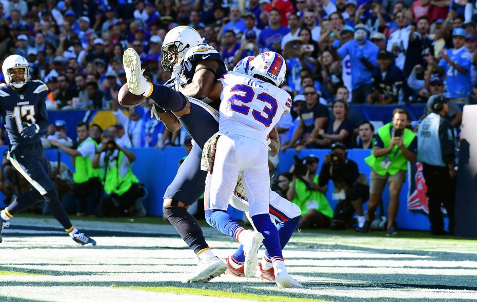 Pro Bowl safety Micah Hyde (23) has bolstered the Bills' defense. (Getty Images)