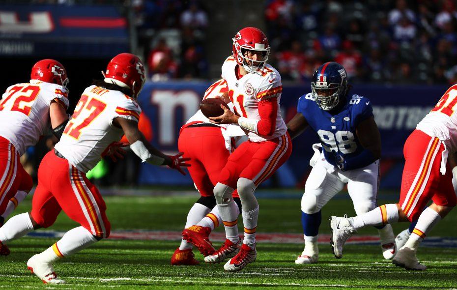 The Buffalo Bills (5-5) face the Kansas City Chiefs (6-4) at Arrowhead Stadium Sunday. (Getty Images)