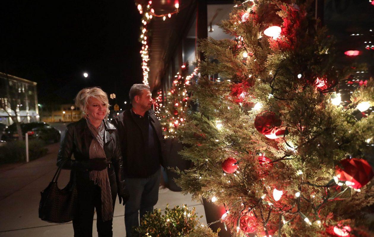Hertel Avenue is a  shopping destination, especially at Christmas time. (Sharon Cantillon/Buffalo News)