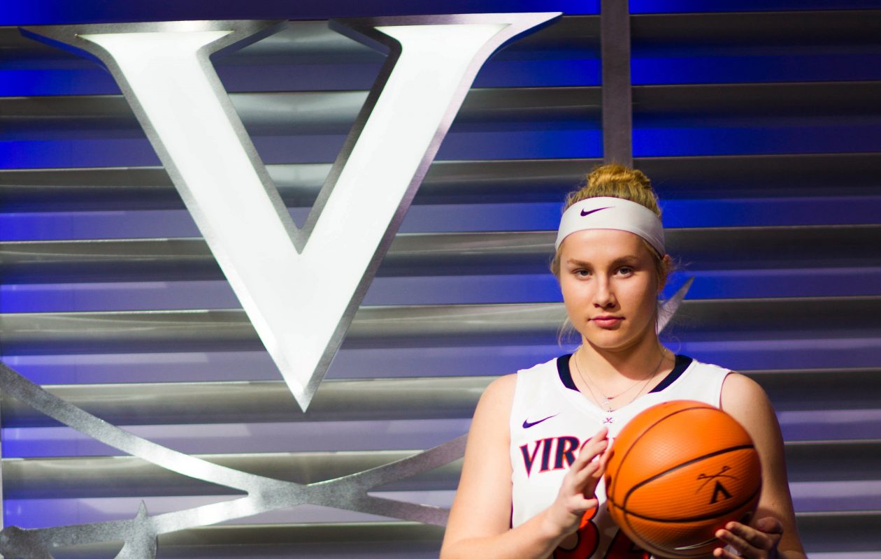 Erica Martinsen, the 2016 Buffalo News Player of the Year in girls basketball, signed her National Letter of Intent to play at Virginia. (Provided by Erica Martinsen)