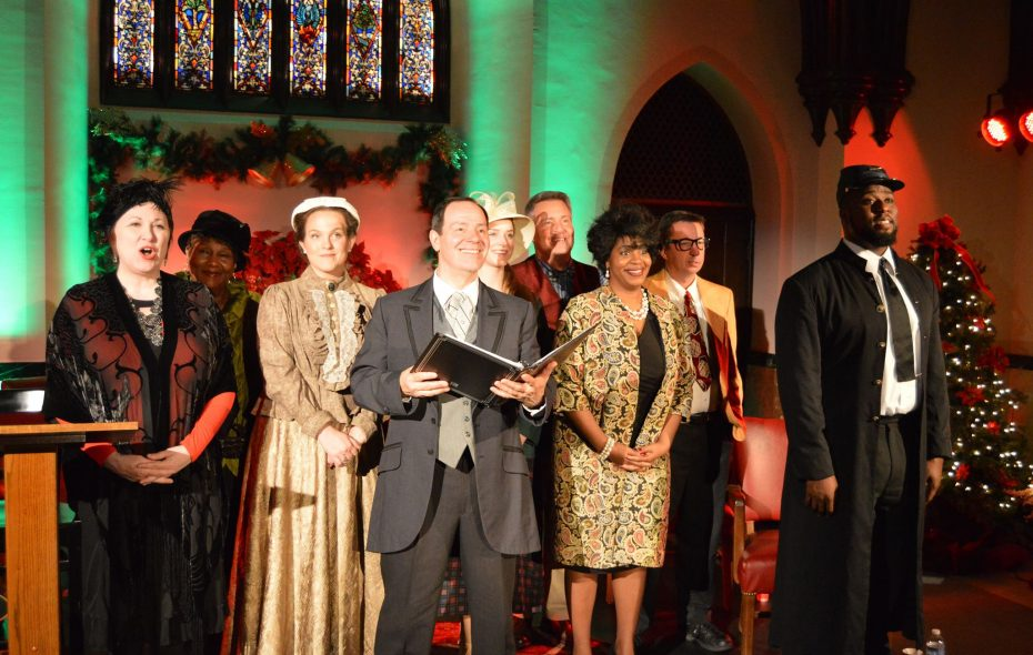 """""""It WAS a Wonderful Life"""" has performances through December in the Forest Lawn chapel."""