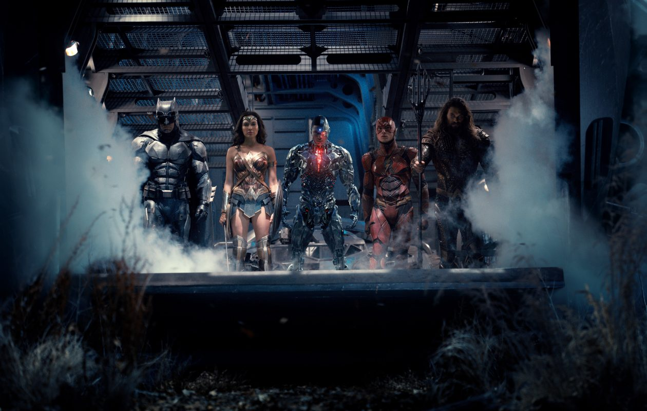 Superheroes band together in 'Justice League.' (Warner Bros. Pictures)