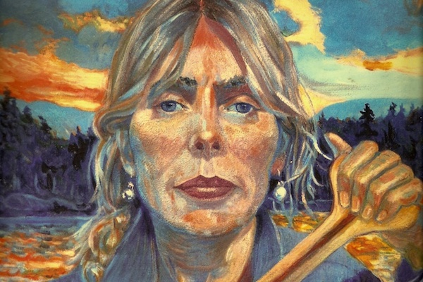 Self-portrait from jonimitchell.com/paintings