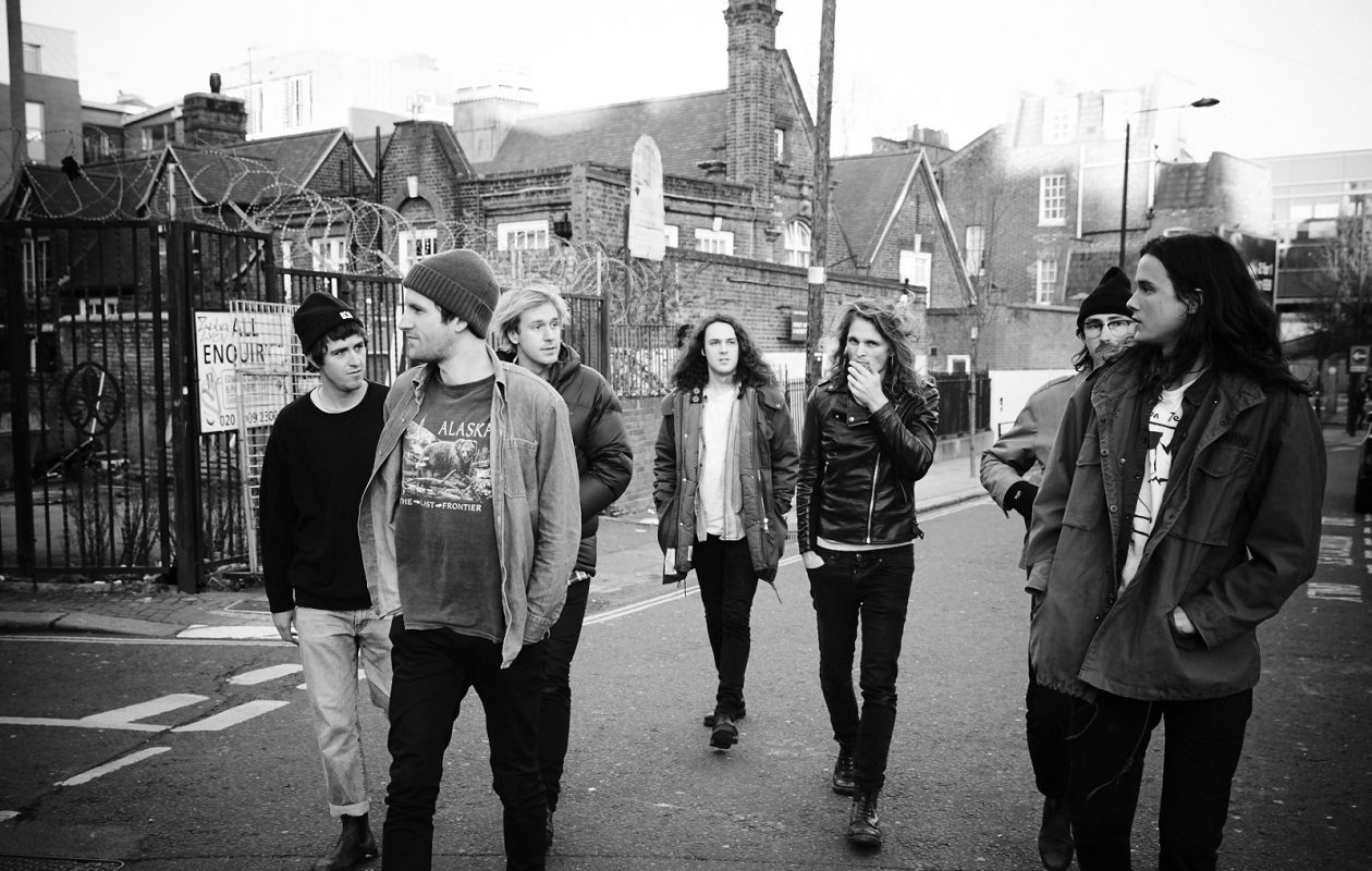 King Gizzard & the Lizard Wizard released 4 breathtaking albums in 2017. None crossed the Grammys radar. (Photo by Lee Vincent Grubb)