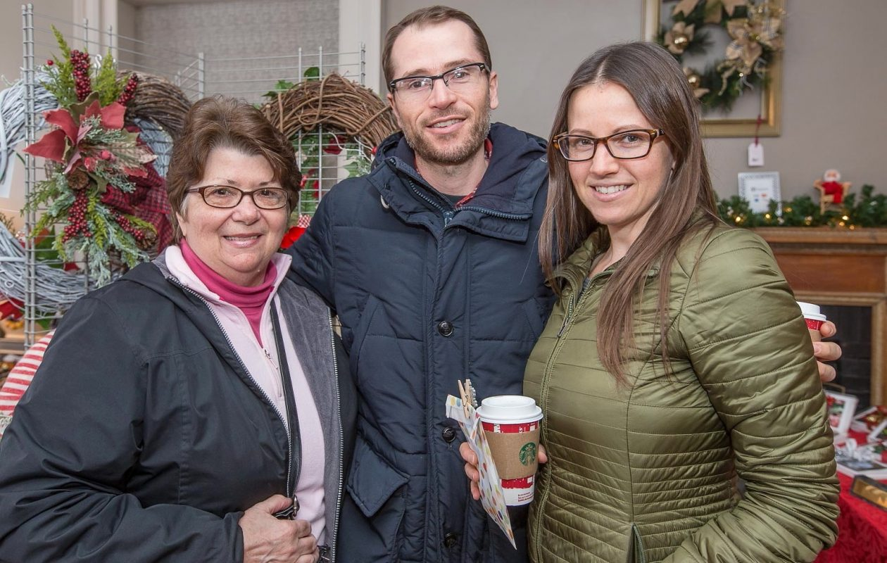 Holiday shopping events are a major feature in this week's The 10. Pictured are smiling faces from the 2016 Christmas at Knox Farm event. (Don Nieman/Special to The News)