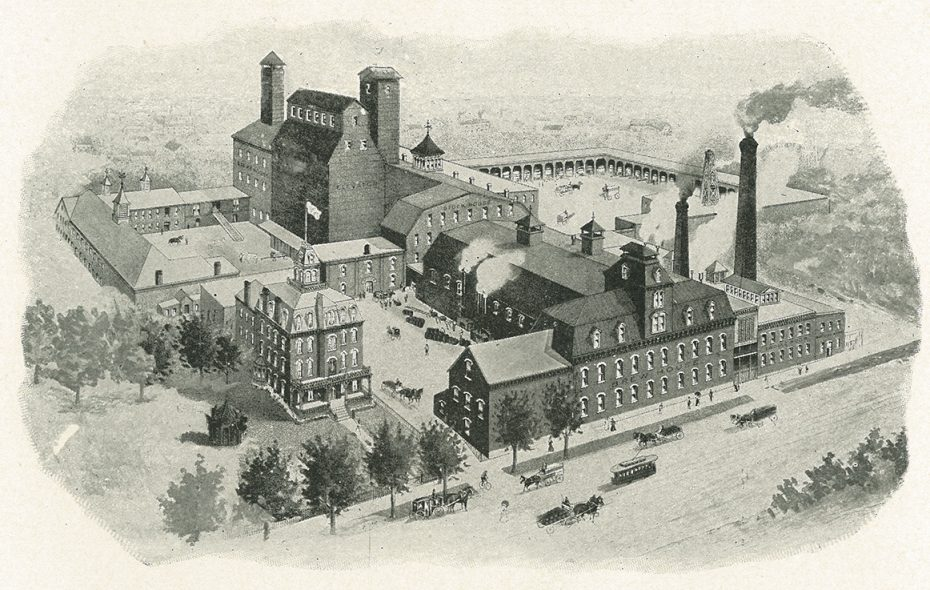 Lion Brewery. (Buffalo: Old and New)