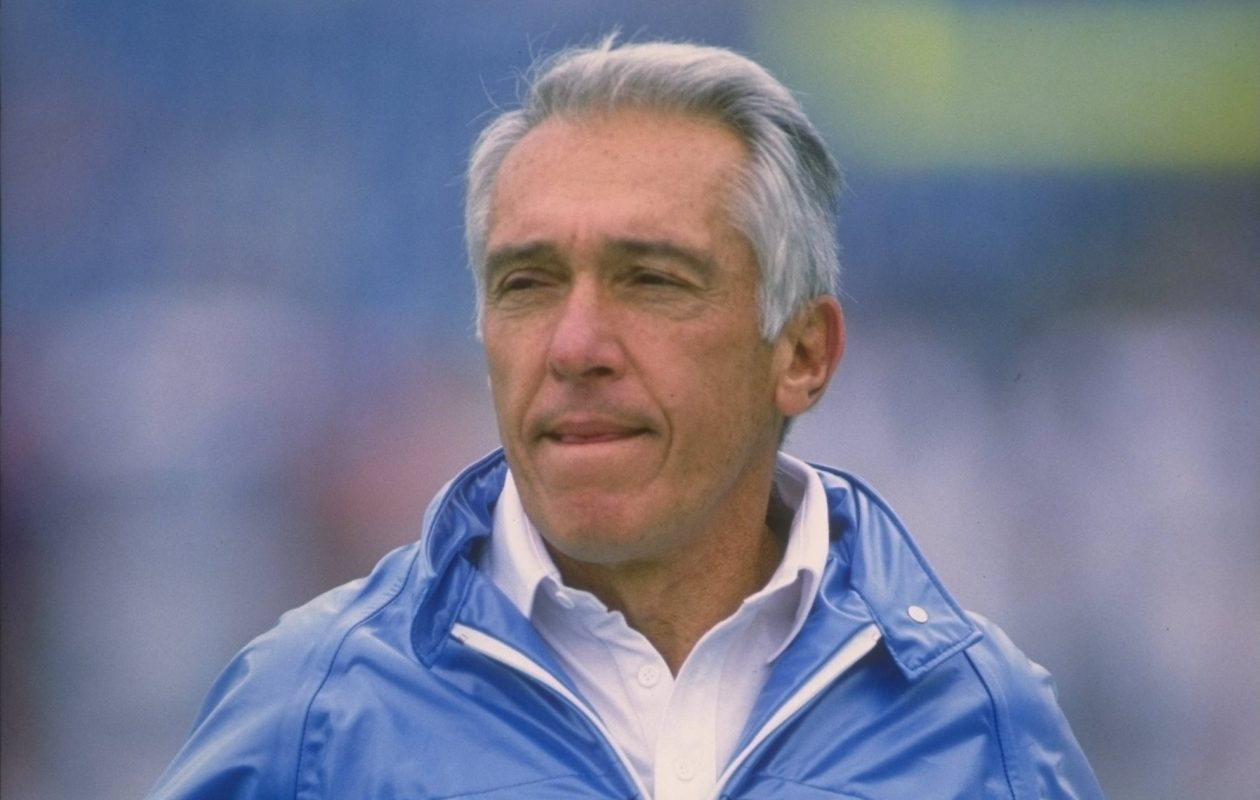 Marv Levy was hired by the Buffalo Bills organization on this date in 1986. (Getty Images)