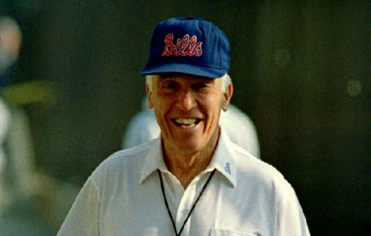 Marv Levy had just taken over from Hank Bullough, and on his first Sunday on the job his Bills defeated the Pittsburgh Steelers, 16-12.  (Getty Images)