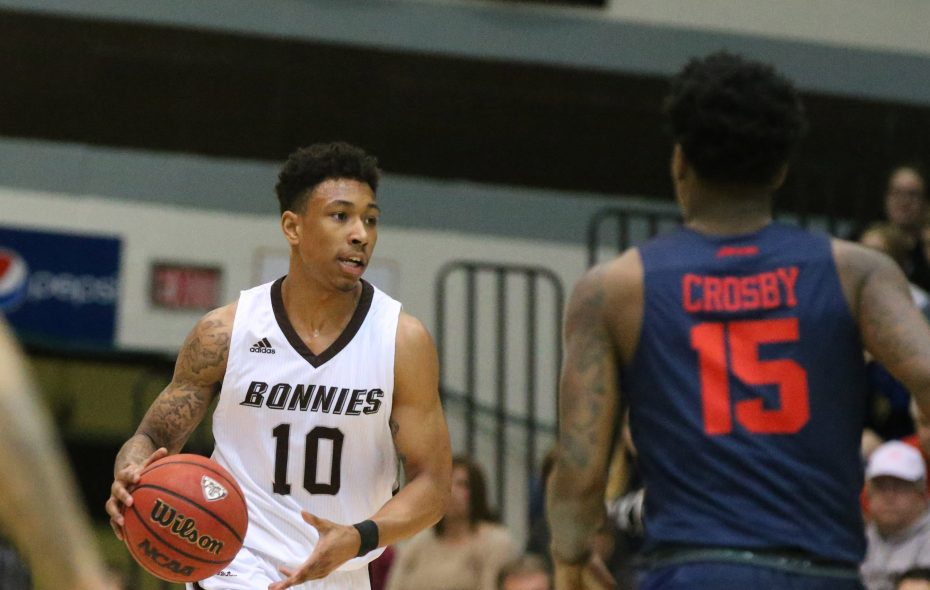Former St. Bonaventure guard Jaylen Adams. (James P. McCoy/News file photo)