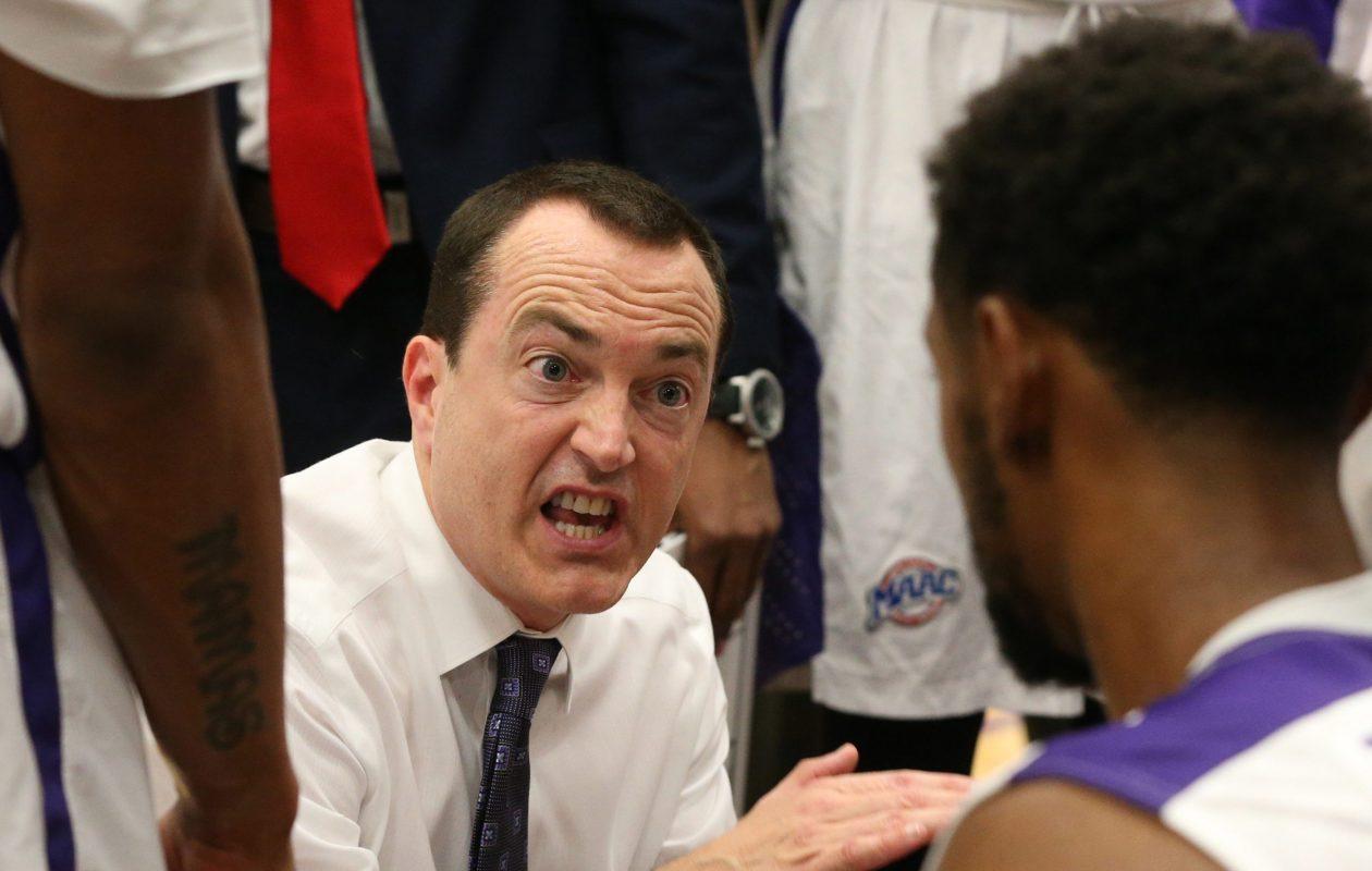 Niagara coach Chris Casey.   (James P. McCoy/ Buffalo News)