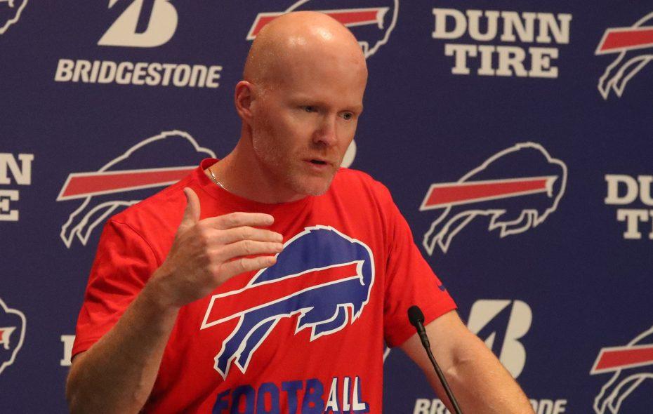 Buffalo Bills head coach Sean McDermott. (James P. McCoy/Buffalo News)