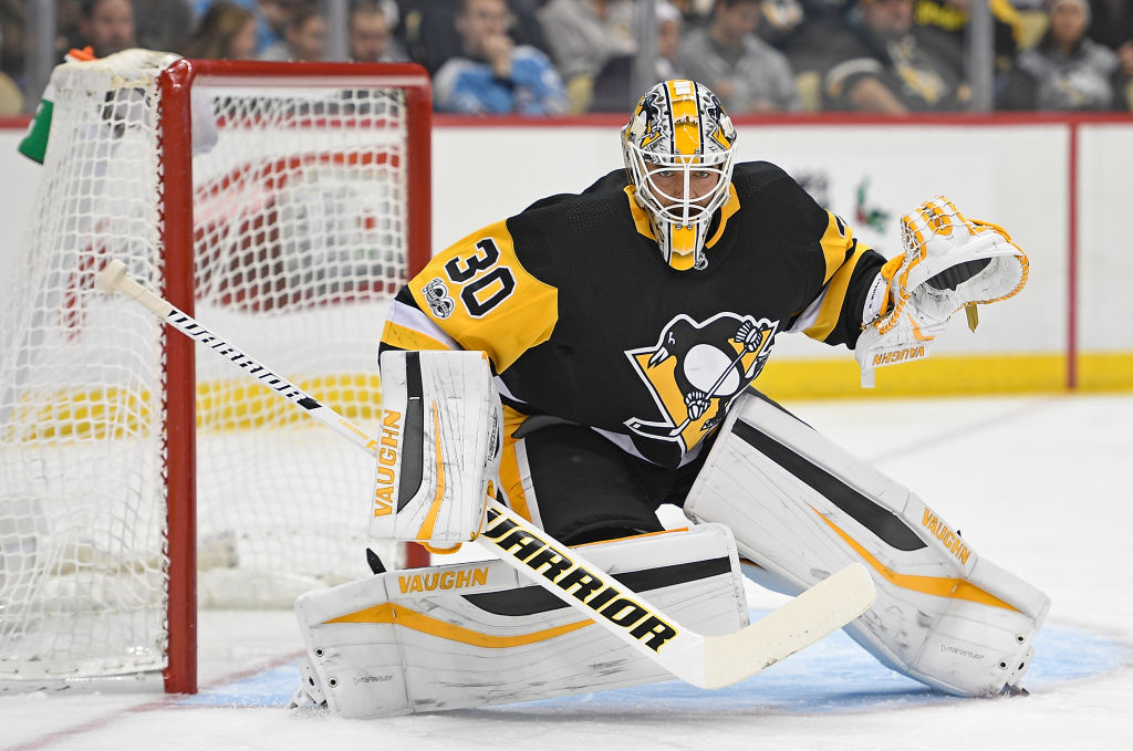 Matt Murray will not play against the Sabres this weekend. (Getty Images)