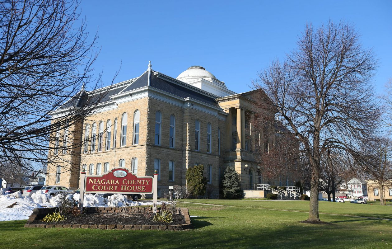 The Niagara County Courthouse. (Mark Mulville/News file photo)