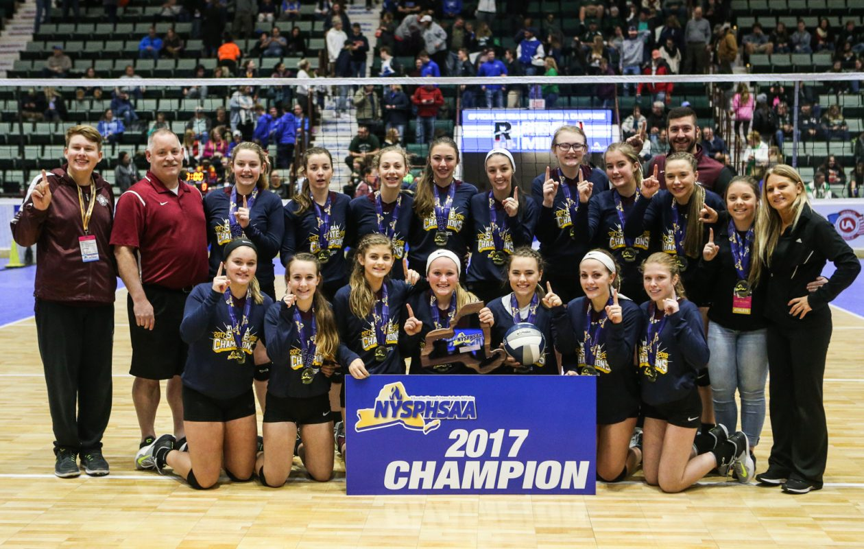 Portville won the NYSPHSAA Class C championship at Glens Falls. (Nick Serrata/Special to The News)