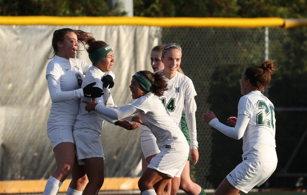 The Nichols girls soccer team is headed to New York City looking for its first state title since 2010. (Sharon Cantillon/Buffalo News)